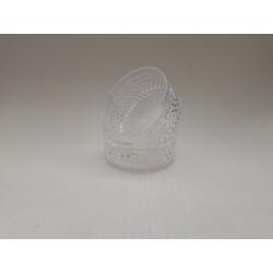 20% DTO. Bowl de acrilico transparente con relieve