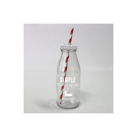 20% DTO. Botella con tapa de metal Simple