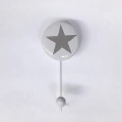 20% DTO. Perchero de metal y ceramica Estrella chico