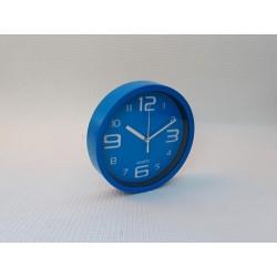 30% DTO. Reloj de pared redondo azul