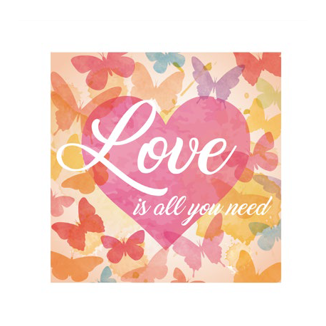 30% DTO. Cuadro Small Love is all you need