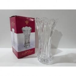 1 - Florero de vidrio con relieve - modelo A