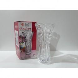 1 - Florero de vidrio con relieve - modelo B