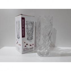 1 - Florero de vidrio con relieve - modelo C