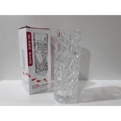 1 - Florero de vidrio con relieve - modelo D