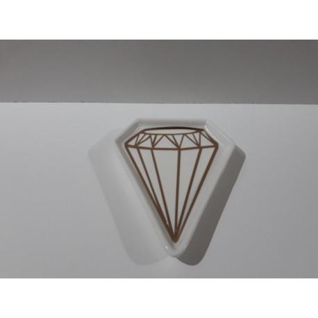 30% DTO. Platito deco Diamante Grande