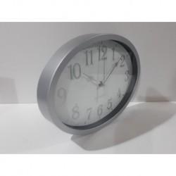 20% DTO. Reloj de pared ovalado de plastico