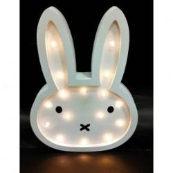 20% DTO.Cartel Luminoso de madera con profundidad conejo