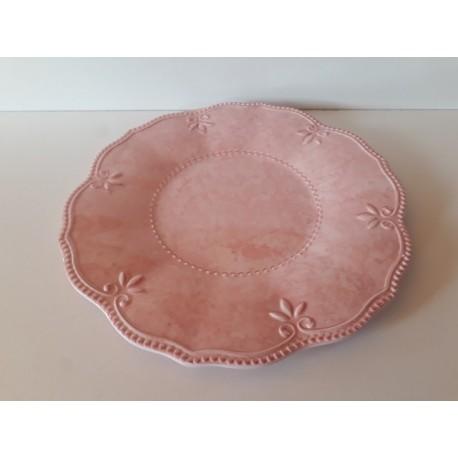 20% DTO. Plato vintage de melamina rosa