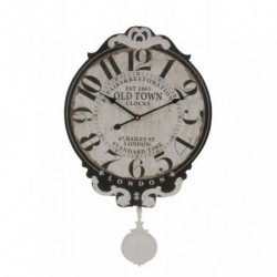 20% DTO. Reloj de pared de MDF con pendulo vintage London