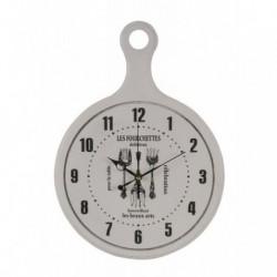 Reloj de pared de MDF vintage Tenedores