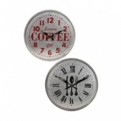 Reloj de pared de chapa vintage - modelos surtidos