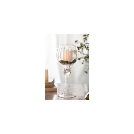 20% DTO. Fanal de vidrio copon alto con moldura alto