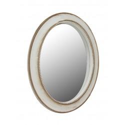 Espejo ovalado para colgar