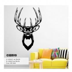 Vinilo decorativo Ciervo Chico