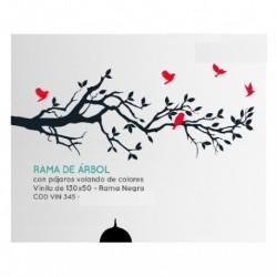 Vinilo decorativo Rama Arbol