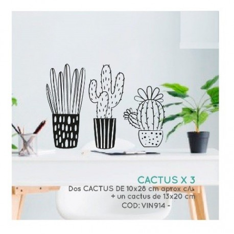 Vinilo decorativo Cactus