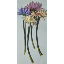 20% DTO. Flor artificial margaritas - colores surtidos