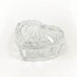 "Caramelera de vidrio ""corazon"" - 9x6cm"